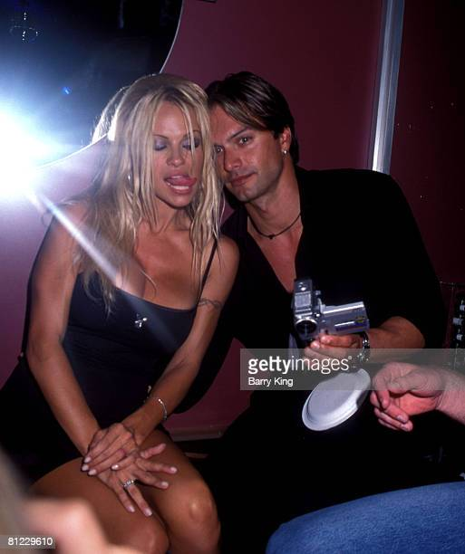 Pamela Anderson and Marcus Schenkenberg