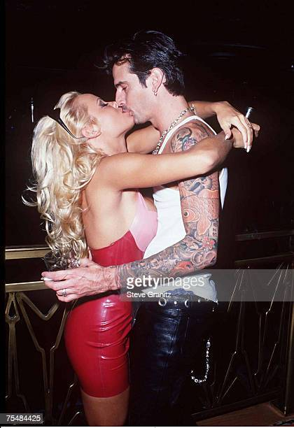 Pamela Anderson and Tommy Lee at the Hard Rock Hotel Casino in Las Vegas Nevada