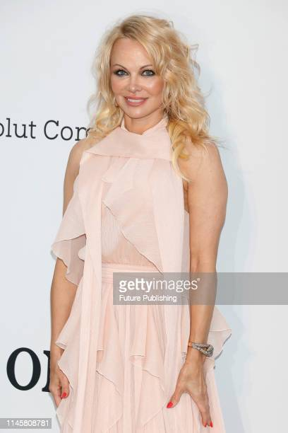 Pamela Anderson at the amfAR Cannes Gala 2019 at Hotel du CapEdenRoc on May 23 2019 in Cap d'Antibes France