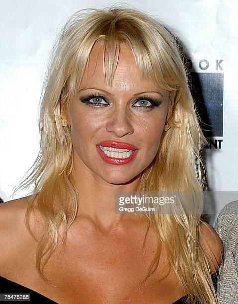 Pamela Anderson at the Casa Del Mar in Santa Monica California
