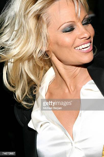 Pamela Anderson at the Republic in West Hollywood California