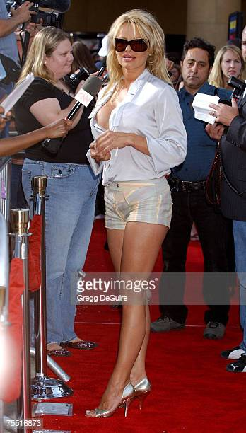 Pamela Anderson at the The Egyptian Theatre in Hollywood California