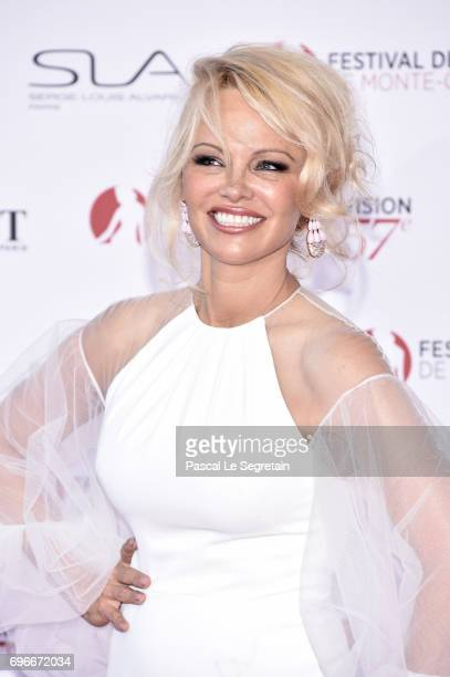 Pamela Anderson attends the 57th Monte Carlo TV Festival Opening Ceremony on June 16 2017 in MonteCarlo Monaco
