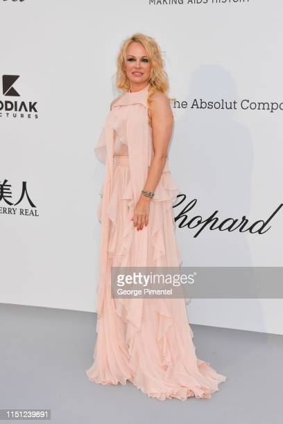Pamela Anderson attends the amfAR Cannes Gala 2019 at Hotel du CapEdenRoc on May 23 2019 in Cap d'Antibes France
