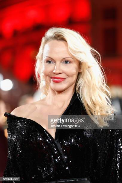 Pamela Anderson attends The Fashion Awards 2017 in partnership with Swarovski at Royal Albert Hall on December 4 2017 in London England