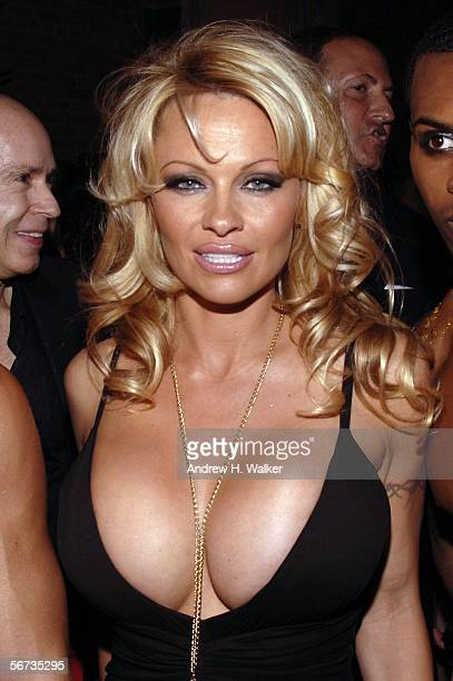 Pamela Anderson attends the MAC Chinese New Year Party on February 2 2006 in New York City New York