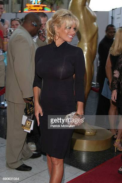Pamela Anderson attends World Music Awards 2005 at Kodak Theatre on August 31 2005 in Hollywood CA