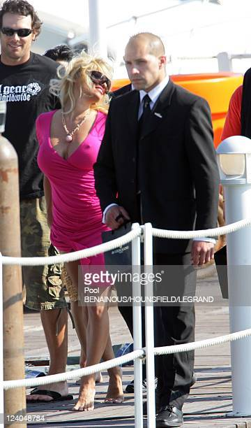 Pamela Anderson baywatch In Cannes France On May 18 2007