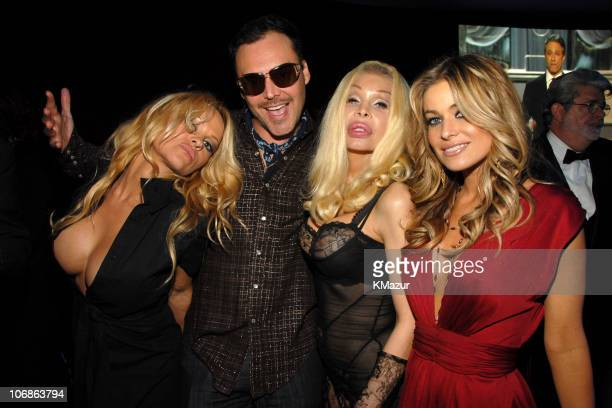Pamela Anderson David LaChapelle Amanda Lepore and Carmen Electra *EXCLUSIVE*