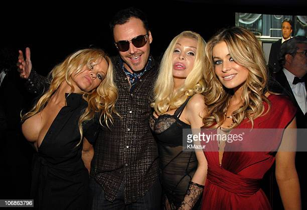 Pamela Anderson David LaChapelle Amanda Lepore and Carmen Electra *EXCLUSIVE*