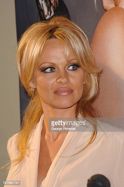 Pamela Anderson during 2005 Viva Glam Fashion Cares Sponsored by M.A.C. Cosmetics at Metro Convention Centre in Toronto, Ontario, Canada.