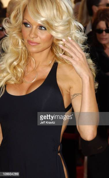 Pamela Anderson during 31st Annual American Music Awards Arrivals at Shrine Auditorium in Los Angeles California United States