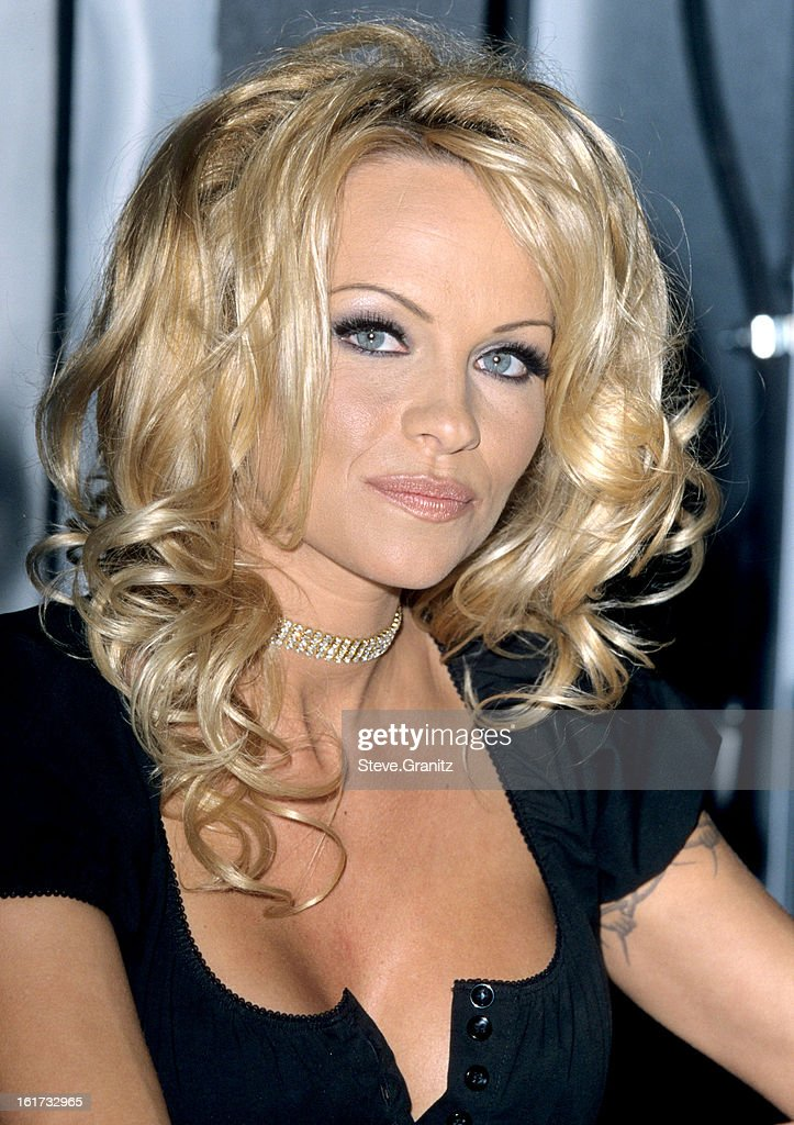 Pamela Anderson During Pamela Anderson Lee And Natalie Raitano Pull