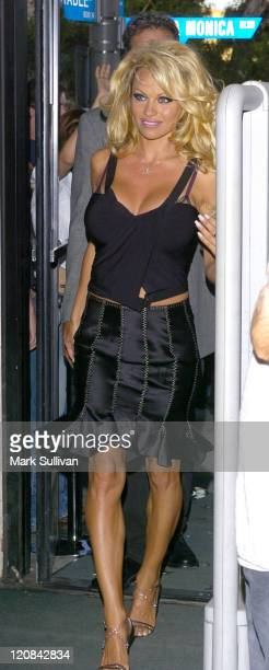 Pamela Anderson during Pamela Anderson Signs Her New Book 'Star' September 5 2004 at A Different Light Bookstore in West Hollywood California United...
