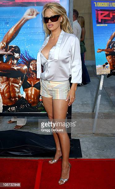 Pamela Anderson during Rize Los Angeles Premiere Arrivals at The Egyptian Theatre in Hollywood California United States