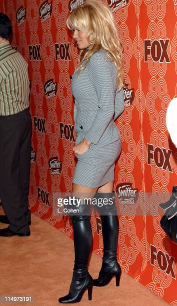 Pamela Anderson during Swiffer CarpetFlick Presents Fox Network's Fall Season Premiere - Orange Carpet at Cabana Club in Los Angeles, California,...