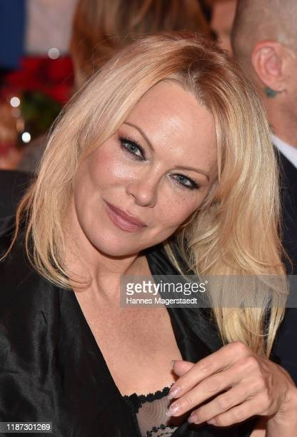 Pamela Anderson during the Gut Aiderbichl Christmas Market opening on November 12 2019 in Henndorf am Wallersee Austria