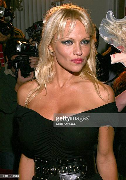 Pamela Anderson hosts the DVD Release of 'Baywatch' seasons 1 2 at Casa del Mar in Santa Monica United States on october 30 2006