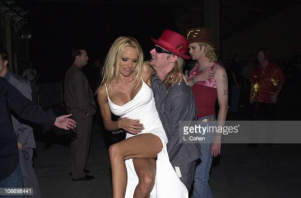 Pamela Anderson Kid Rock during Pamela Anderson Kid Rock Sighting in Las Vegas at Las Vegas in Las Vegas Nevada United States