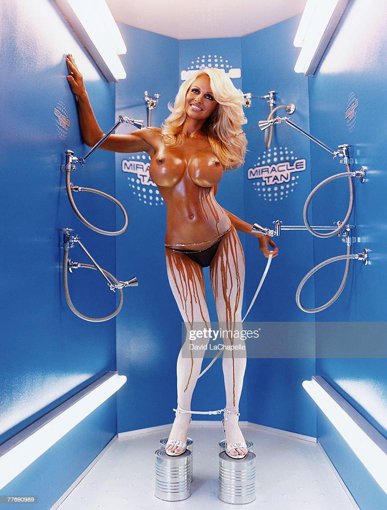 Pamela Anderson, Vogue Italy, October 1, 2004