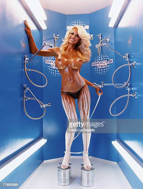 Pamela Anderson Pamela Anderson by David LaChapelle Pamela Anderson Vogue Italy October 1 2004