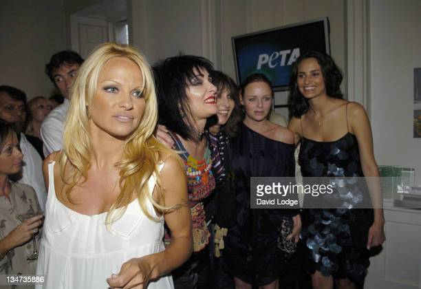 Pamela Anderson Siouxsie Sioux Chrissie Hynde and Stella McCartney