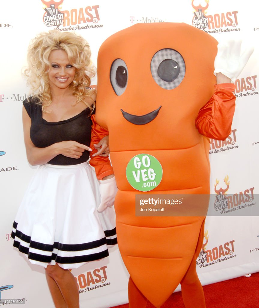 Comedy Central Roast of Pamela Anderson - Arrivals : News Photo