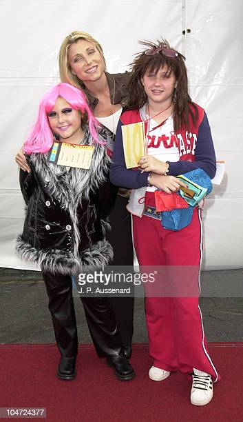 Pamela Bach Daughters Taylor Haley during 8th Annual Dream Halloween to Benefit Children Affected by Aids Foundation at Santa Monica Airport in Santa...