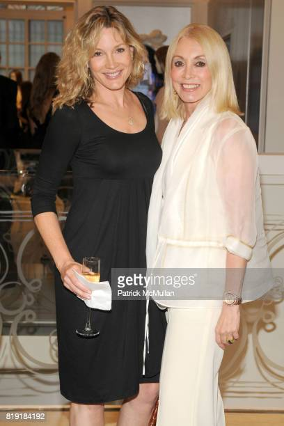 Pamela Bowen and Janis Kaye attend DIOR HARPER'S BAZAAR Host Cocktails to Preview FALL 2010 Collection at Dior on July 14th 2010 in New York City