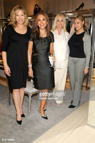 Pamela Bowen Miriam Azram Janis Kaye and Sonia Marson attend DIOR HARPER'S BAZAAR Host Cocktails to Preview FALL 2010 Collection at Dior on July 14th...
