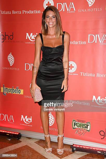 Pamela Camassa attends the Diva Donna Party during the 73rd Venice Film Festival at Centurion Hotel on September 7 2016 in Venice Italy