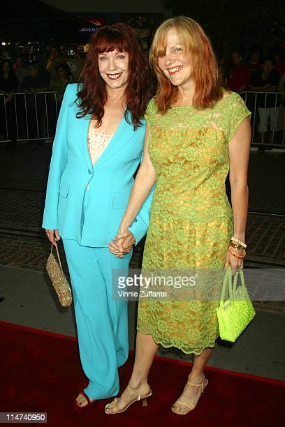 Pamela Des Barres and Cynthia Plaster Caster attending the premiere of their latest film The Banger Sisters in Los Angeles 09/19/02