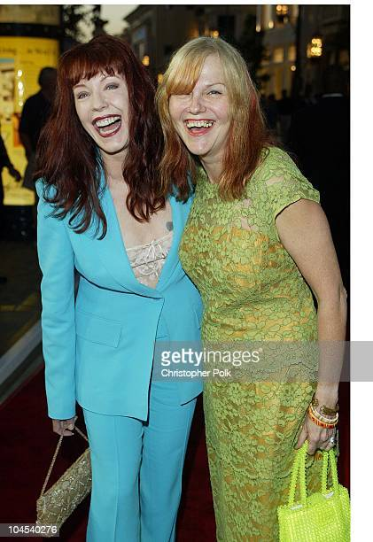 Pamela Des Barres and Cynthia Plaster Caster during The Banger Sisters Premiere Arrivals at The Grove Stadium 14 Theatres in Los Angeles California...