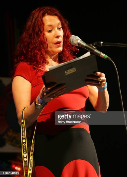 Pamela Des Barres during 20th Annual SXSW Film and Music Festival Pamela Des Barres at Austin Music Hall in Austin Texas United States