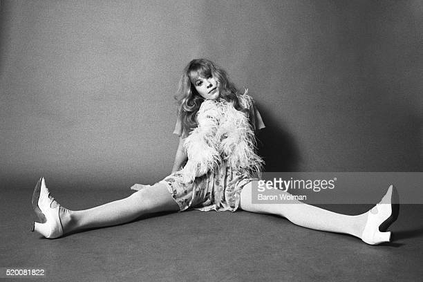 Pamela Des Barres one of the groupies of the GTO's poses at the AM Studio in Los Angeles CA November 1968