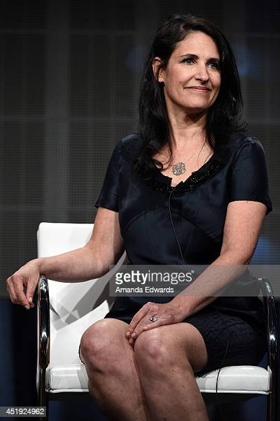Pamela Deutsch Executive Producer Investigation Discovery speaks during the Discovery Communications TCA Panel Wednesday July 9 2014 at the Beverly...