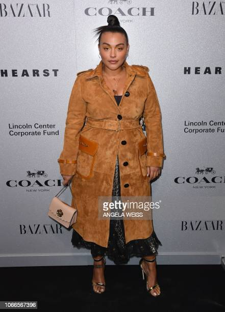 Pamela Elsesser attends the Lincoln Center Corporate Fashion Gala honoring Coach's Creative Director Stuart Vevers at Alice Tully Hall Lincoln Center...