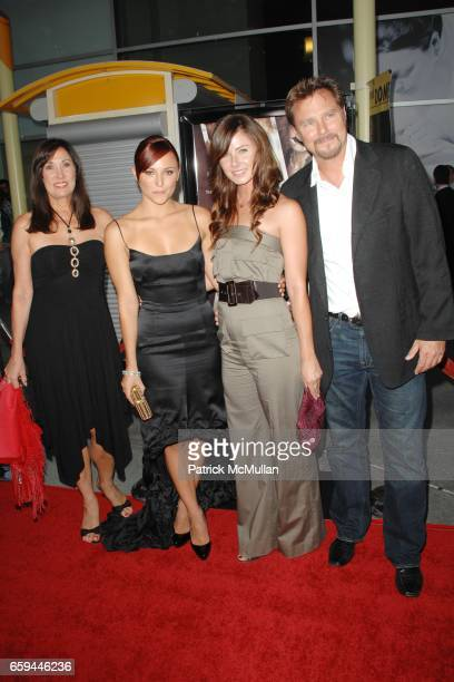 Pamela Evigan Briana Evigan Vanessa Lee Evigan and Greg Evigan attend SUMMIT ENTERTAINMENT'S Premiere of SORORITY ROW at Arclight Theatre on...