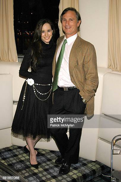 Pamela Fielder and David Ford attend Junior Council of AMERICAN BALLET THEATRE Yacht Party at The Forbes Yacht The Highlander on October 21 2005 in...