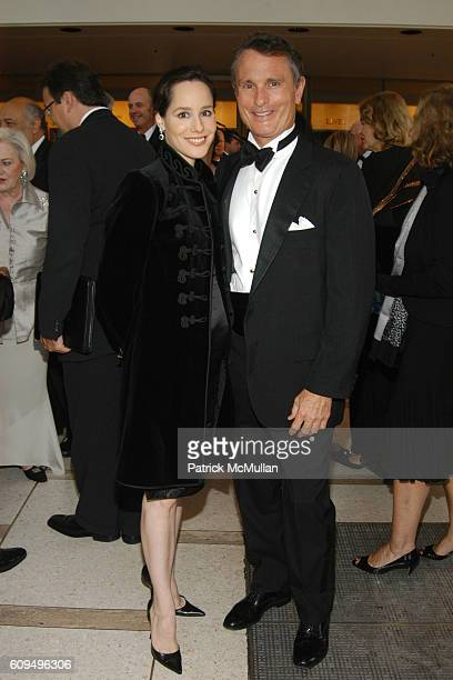 Pamela Fielder and David Ford attend New York Philharmonic Opening Night at Avery Fisher Hall on September 18 2007 in New York City