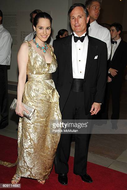 Pamela Fielder and David Ford attend The COSTUME INSTITUTE Gala in honor of POIRET KING OF FASHION at The Metropolitan Museum of Art on May 7 2007 in...