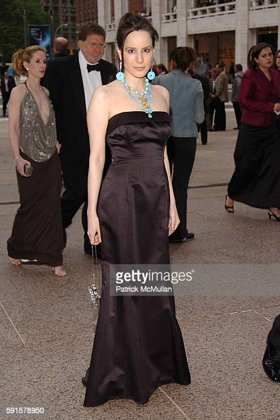 Pamela Fielder attends American Ballet Theatre 65th Anniversary Spring Gala at Metropolitan Opera House on May 23 2005 in New York City