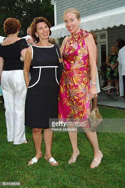 Pamela Fiori and Amy Hoadley attend The Historical Society of Palm Beach County hosts Cocktail Reception to kick off the Palm Beach Design Fair at...