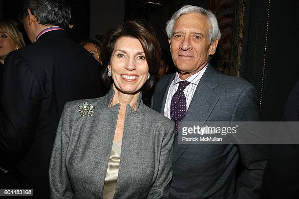 Pamela Fiori and Colt Givner attend Engagement Dinner for JAY MCINERNEY and ANNE HEARST hosted by GEORGE FARIAS at La Grenouille on November 20 2006...