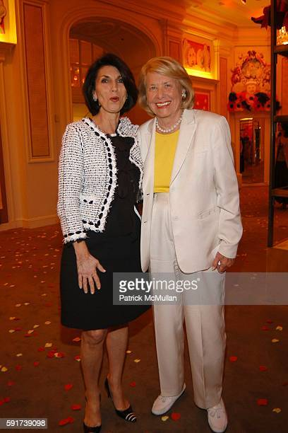 Pamela Fiori and Liz Smith attend Madonna Childrens Book Lotsa de Casha published by Callaway Arts and Entertainment at Bergdorf Goodman on June 7...