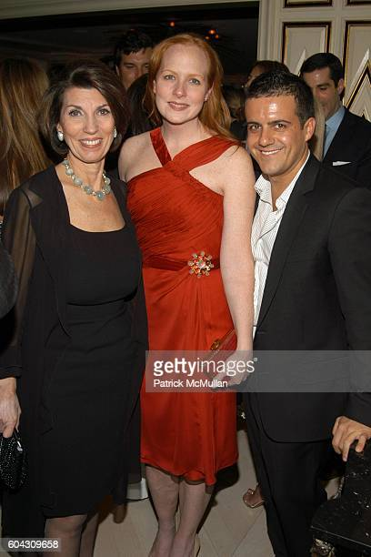 Pamela Fiori Anne Grauso and Amedeo Scognamiglio attend BERGDORF GOODMAN and The Italian Trade Commission host a dinner with the Young Friends of...