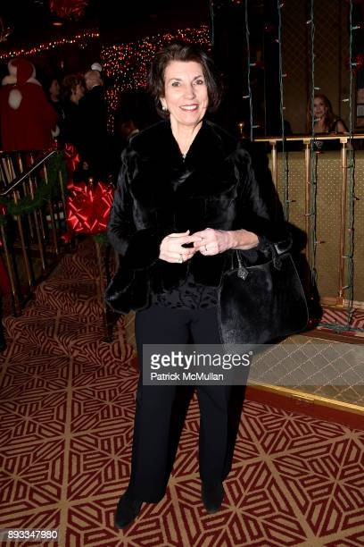 Pamela Fiori attends A Christmas Cheer Holiday Party 2017 Hosted by George Farias Anne and Jay McInerney at The Doubles Club on December 14 2017 in...