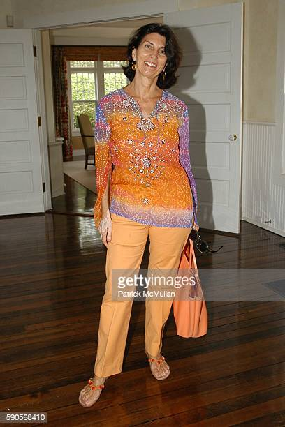 Pamela Fiori attends Cynthia and Dan Lufkin Host a Luncheon Celebrating The Juilliard School's Centennial at the home of Pamela Gross and James...