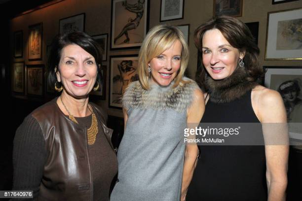 Pamela Fiori Carol Mack and Katherine Bryan attend ANNE HEARST MCINERNEY JAY MCINERNEY and GEORGE FARIAS Holiday Party at 21 Club on December 16 2010...