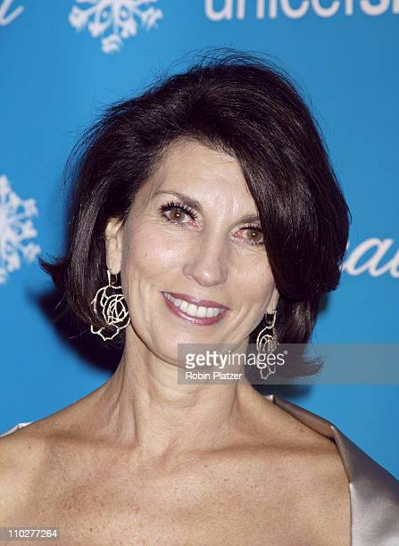 Pamela Fiori during 2nd Annual UNICEF Snowflake Ball Arrivals at The Waldorf Astoria Hotel in New York City New York United States